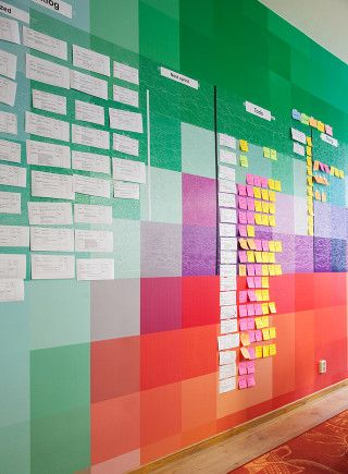 Scrum Wall Uselab Office Interior Design And Project Management By