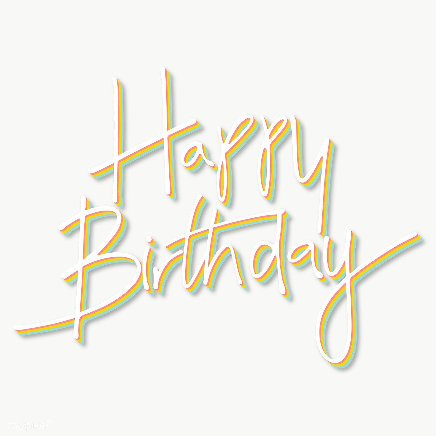 Happy Birthday Typography Transparent Png Free Image By Rawpixel Com Kappy Kappy Birthday Typography Happy Birthday Typography Happy Birthday Words Ideas for happy birthday text image png
