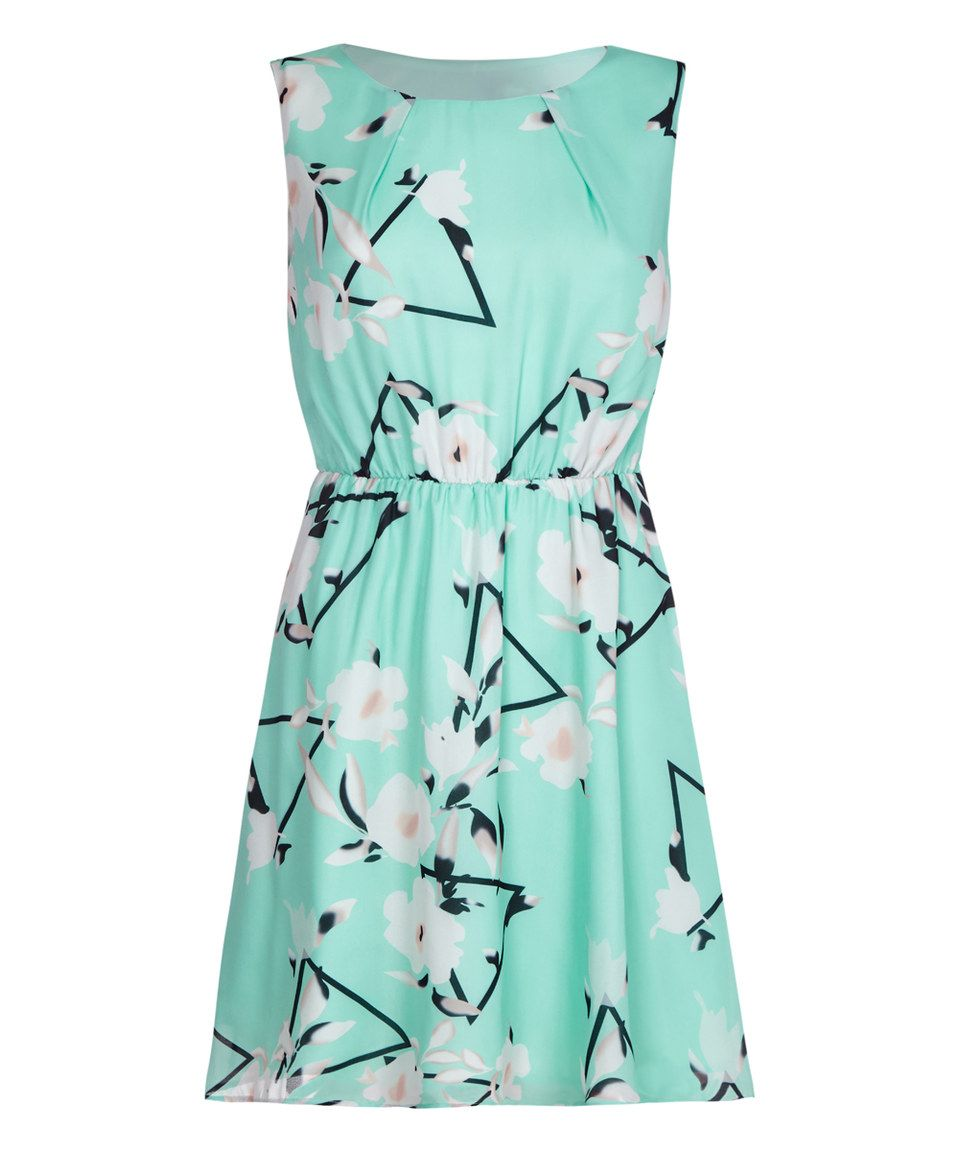 Look what i found on zulily iska london turquoise u white floral a