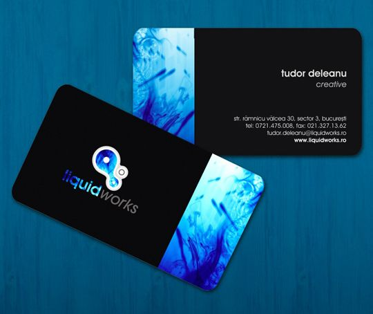 Post image for Liquid Works' Cool Business Card | Printing ...