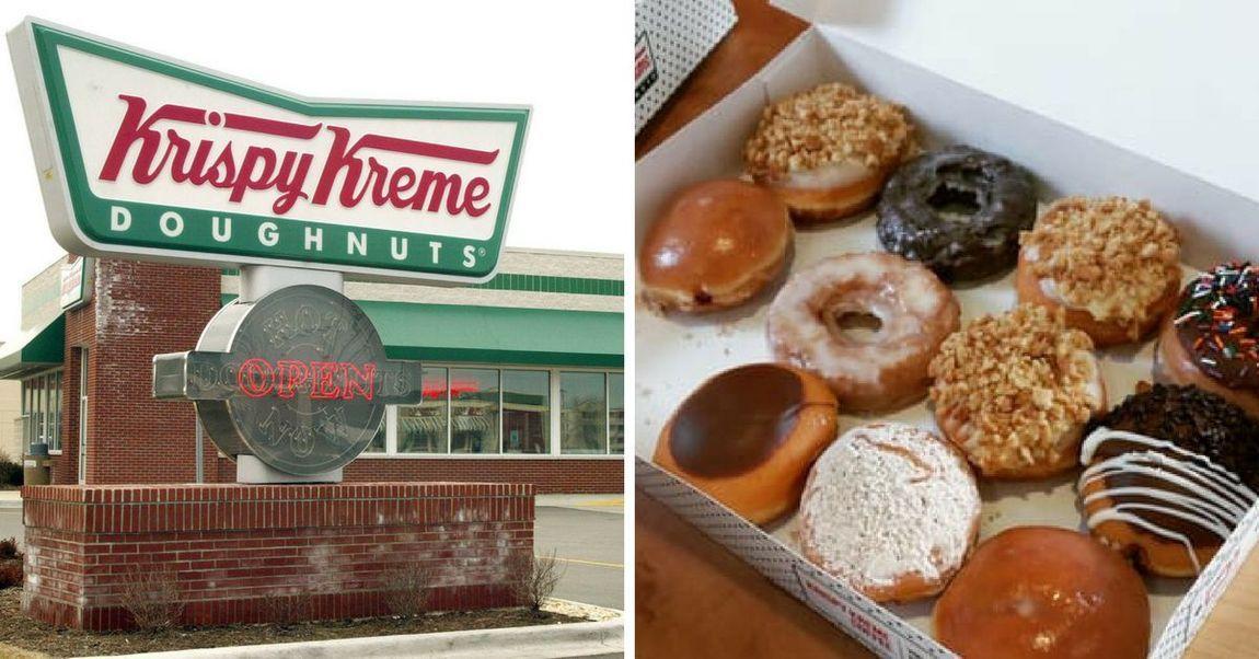 Krispy Kreme Is Giving Away A Dozen Donuts For Cheap But