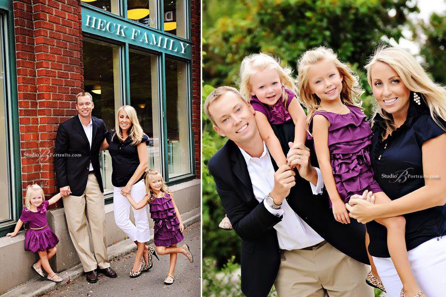 Family Portrait Dress Ideas