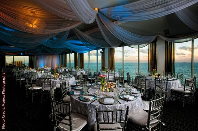 Wedding At Sonesta Fort Lauderdale Overlooking The Ocean In Our Infinity Ballroom