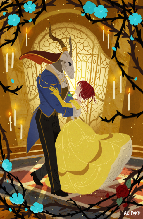 Chise And Elias Beauty And The Beast