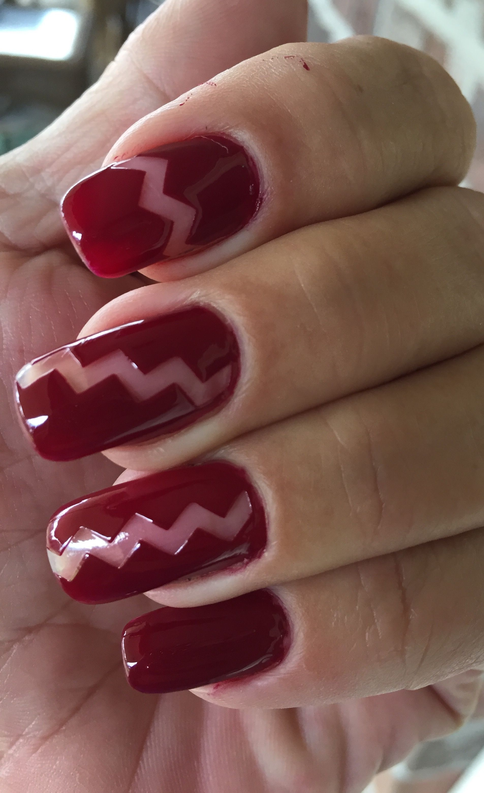 1st attempt at negative space nail art using #julep nail decals and ...