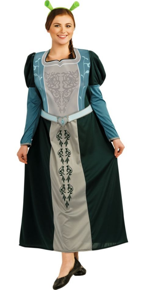 Plus Size Princess Fiona Costume for Adults - Party City ...