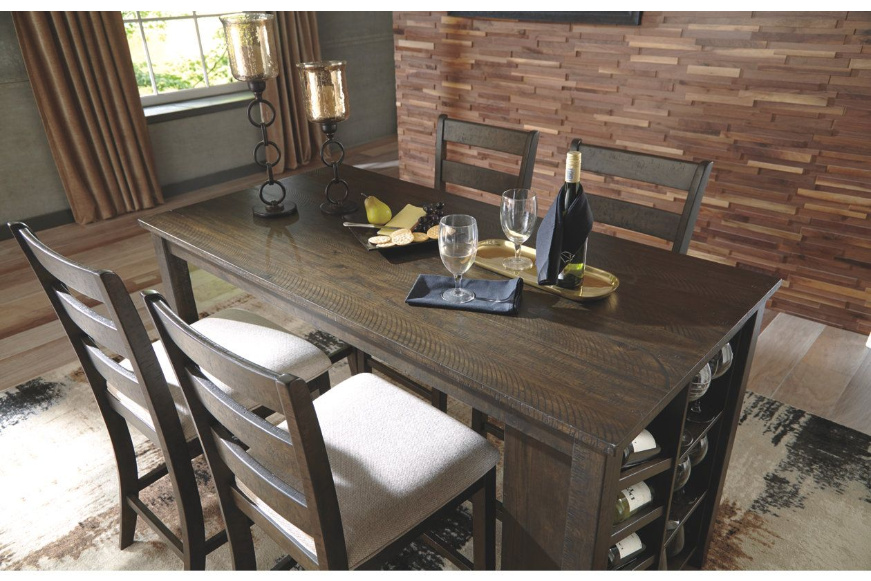 Rokane Counter Height Dining Room Table Ashley Furniture