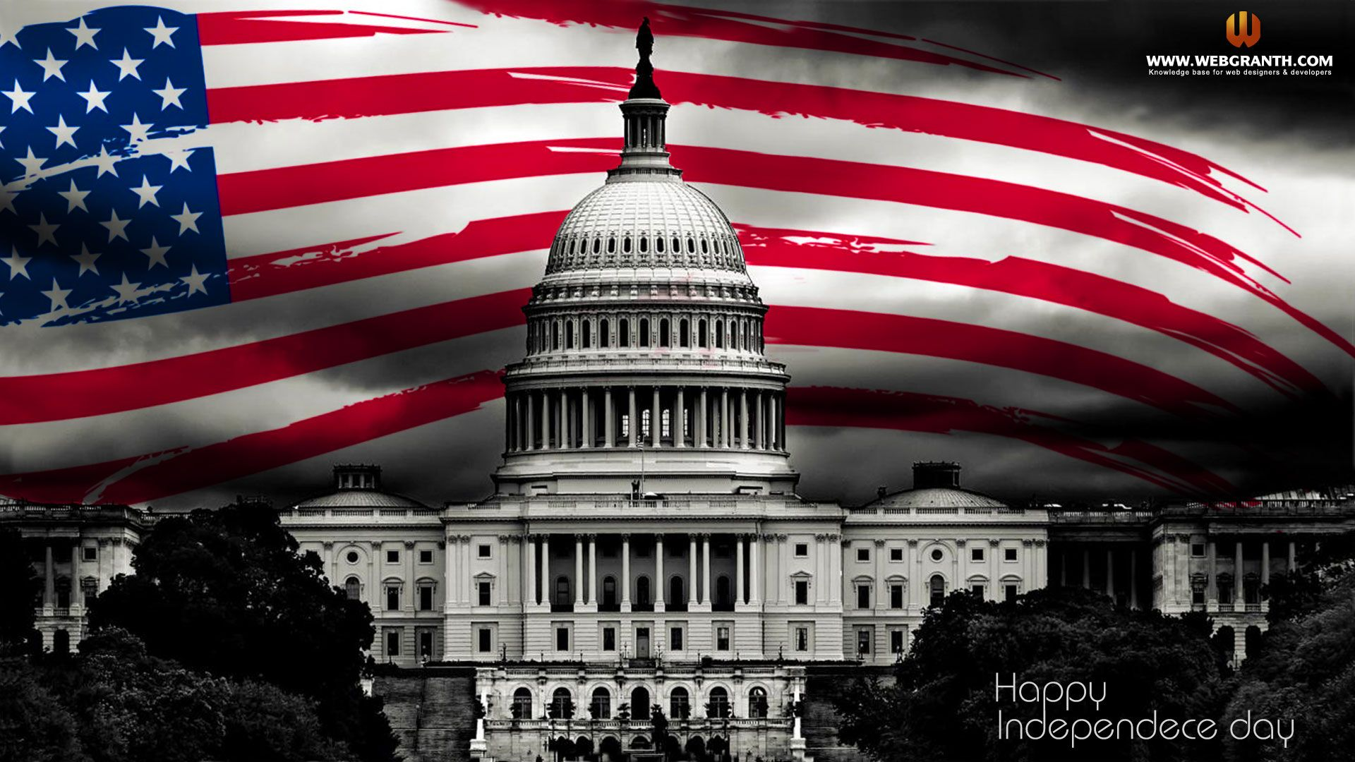 Free Desktop Wallpaper Independence Day USA Download