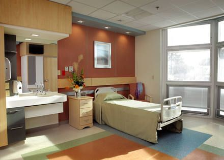 Patient Room design at Lake Taylor Transitional Care ...