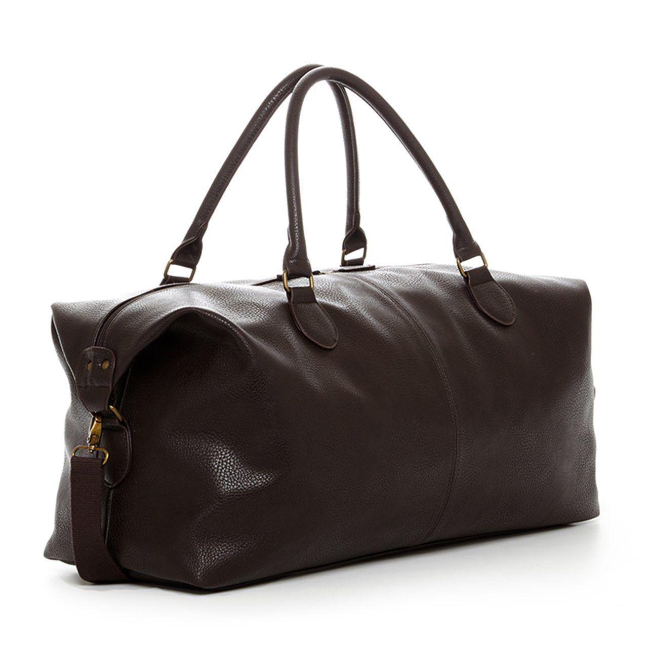 Gunner Vegan Leather Duffle Bag Leather Duffle Bag Leather Duffel Leather Duffle