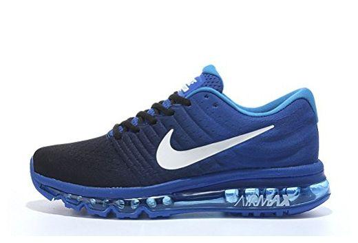 Billig Nike Air Max 2017 blau schwarz weiß Nike Air Max
