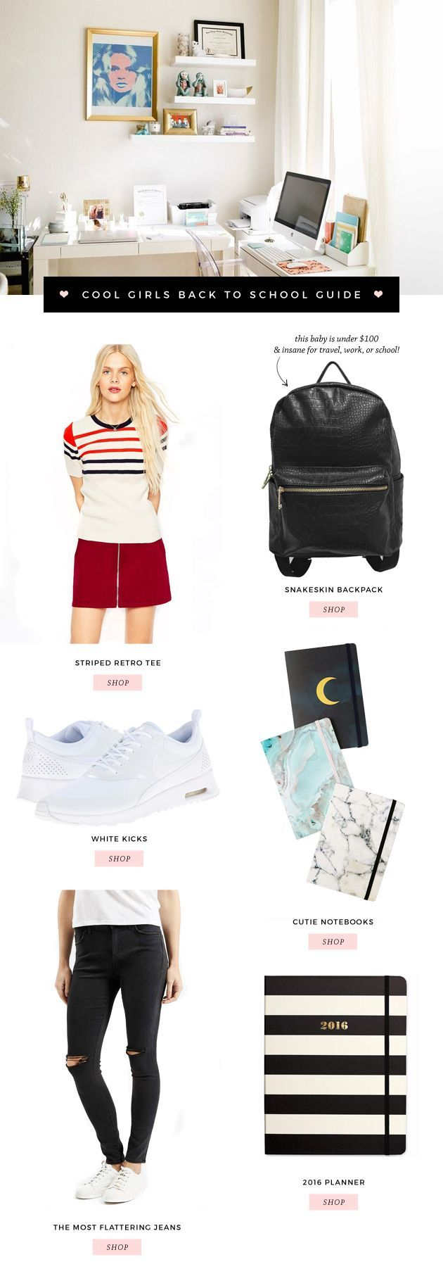 Too Cool For School: BACK TO SCHOOL MUST-HAVES