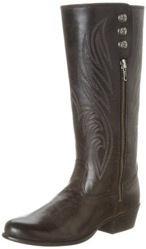 3ef0cabb755 Ariat Riding Boots | Women's Uprorar Old West Black Riding Boots ...