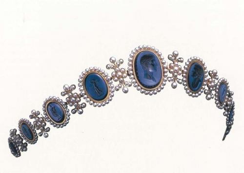 Hercules Intaglio tiara by Mikimoto c1810