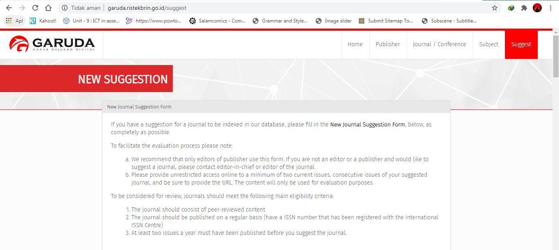 Cara Indeks Jurnal Di Portal Garuda Journal Sistem Informasi Manajemen Jurnal