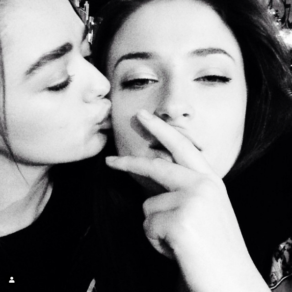 Just a Ton of Adorable Photos of Sophie Turner and Maisie ...