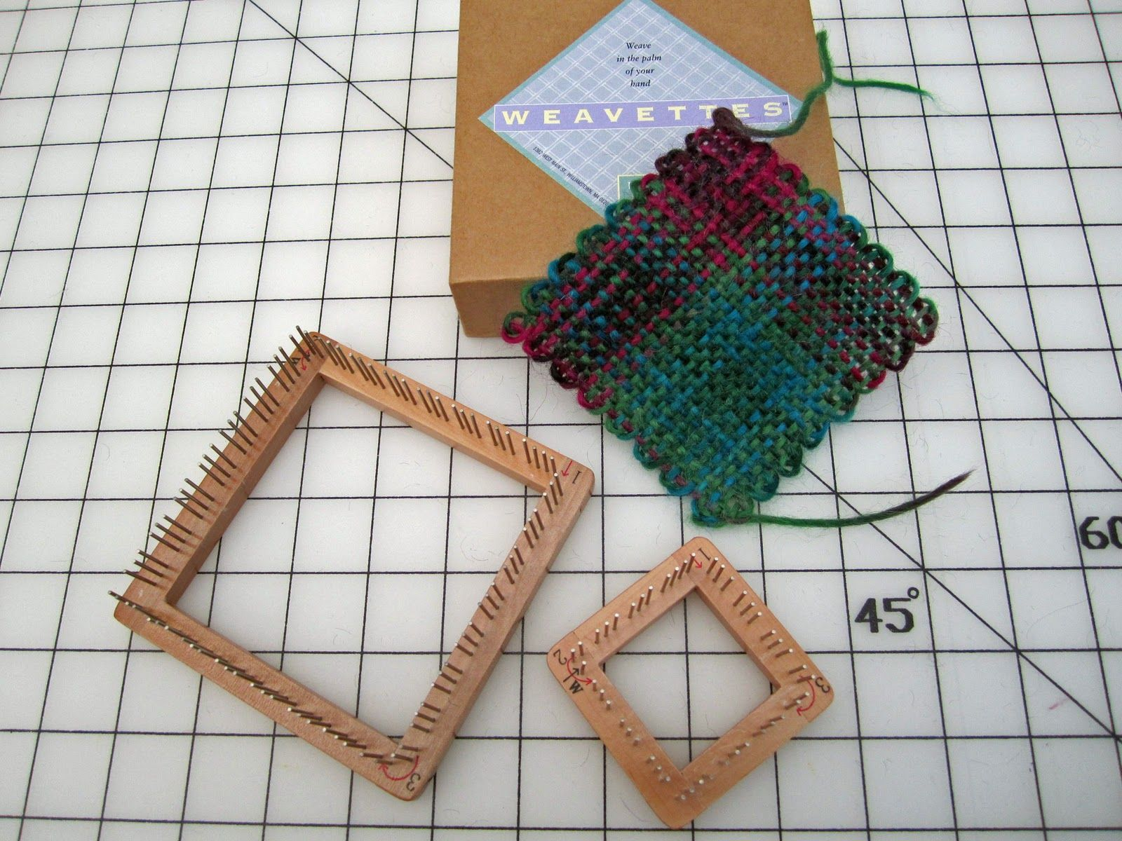 "Studio Jottings: ""Weavette"" Loom"