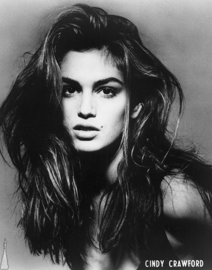 Cindy Crawford, yes I knew her and she knew me. Nice ...