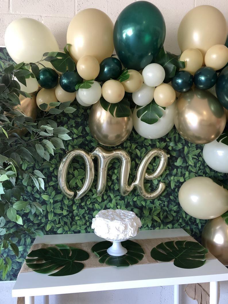 Balloon Garland DIY Kit~Safari Party~Wild One Party~First Birthday~Jungle Party~Wild One Theme~Wild One Birthday~Safari Theme~Jungle Theme