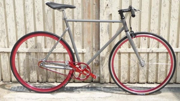 Red Industry fixed-gear