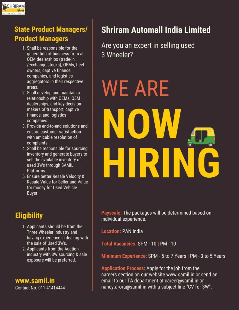 State Product Managers Head Pan India Job Openings In 2021 Job Opening Job Management