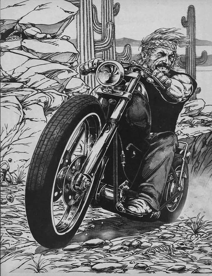 Biker Themed Tattoo Inspiratitions Old School Vintage Styled