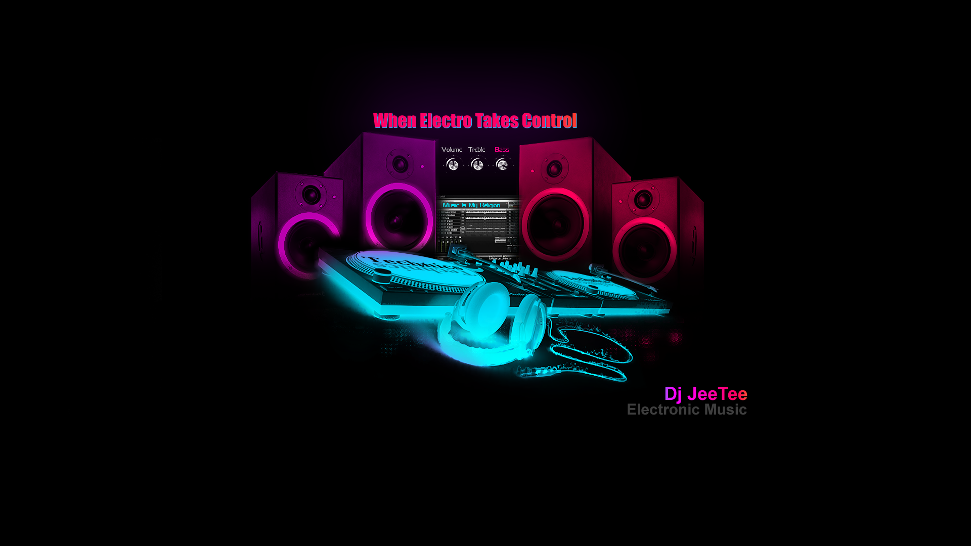Electro Songs House Music Trance Fondo De Pantalla