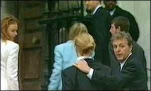 Linda Mccartney Funeral