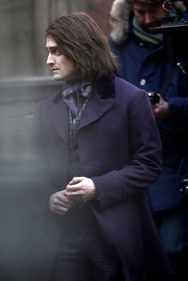 Please Enjoy These Photos Of Daniel Radcliffe With Long Hair Crushes