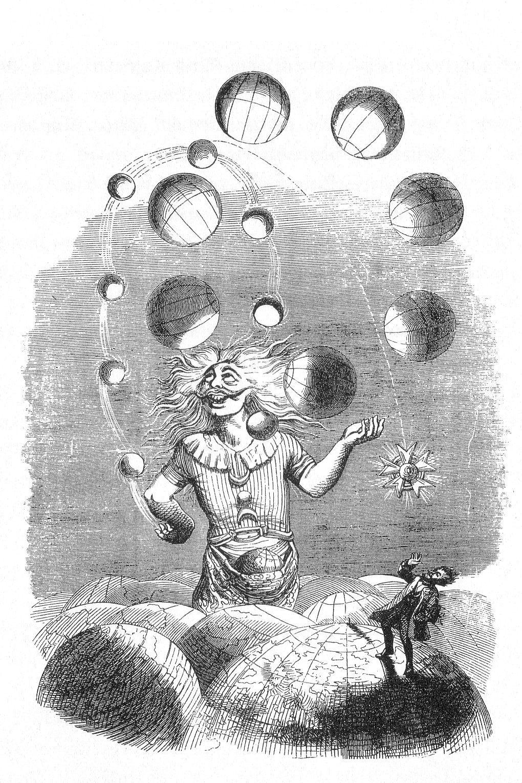 """Un Autre Monde,"""" Jean Ignace Isidore Gérard"""