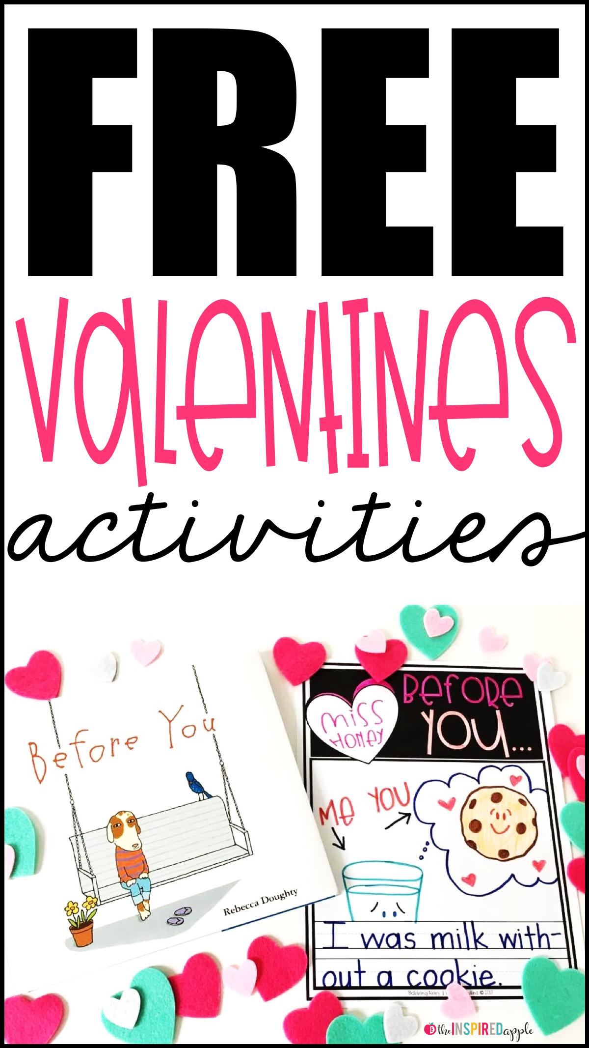 Free Valentine S Day Book Activity