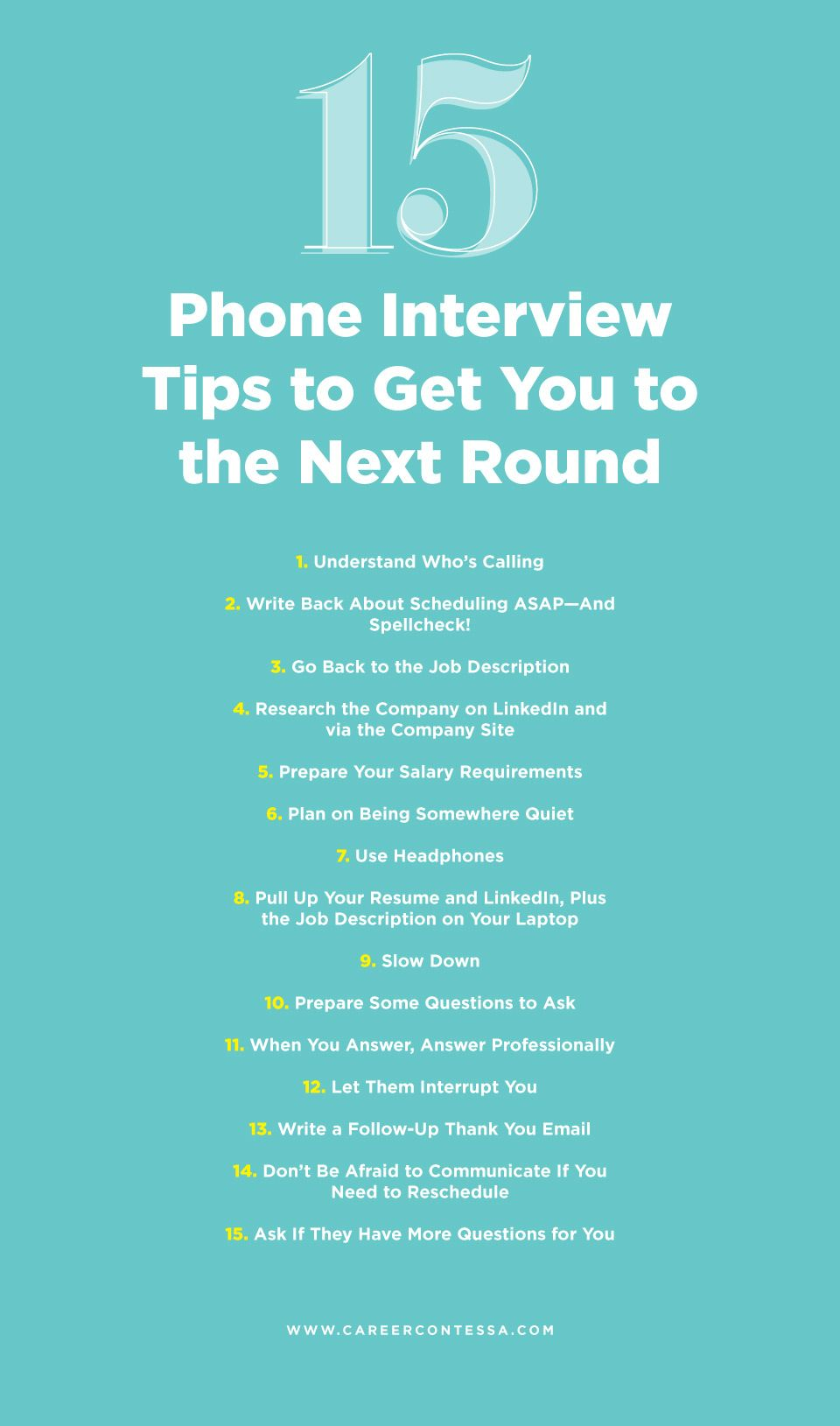 15 Sneaky Phone Interview Tips to Get You to the Next