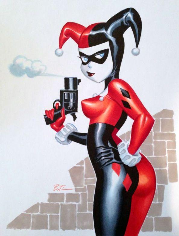 Harley Quinn Artist: Bruce Timm