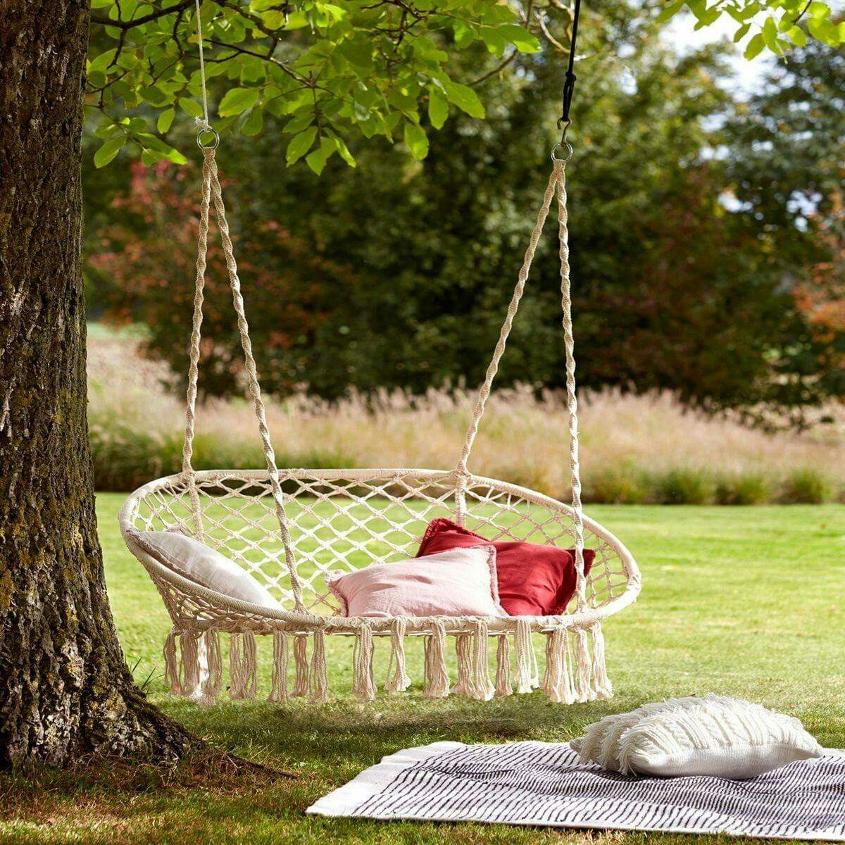 Pin by Whitney Hood on maison Garden swing seat, Garden