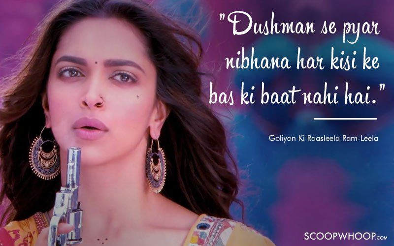 10 Unforgettable Dialogues That Define Deepika Padukone S Memorable Journey In Bollywood Movie Quotes Funny Bollywood Quotes Bollywood Love Quotes