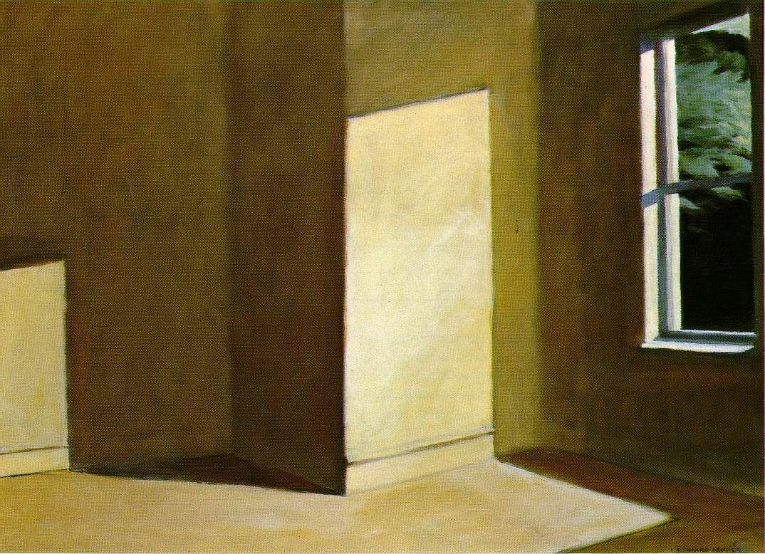 Sun in an empty room / Edward Hopper