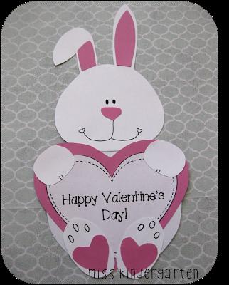 Miss Kindergarten Valentines Day Crafts
