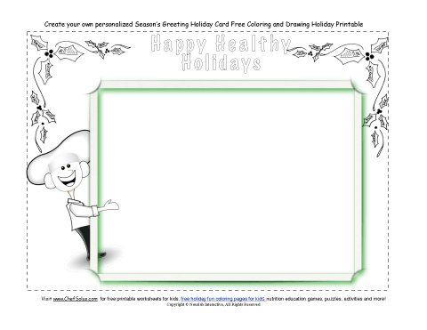 Print out free holiday cards for kids cute holiday coloring pages holidays 12 christmas card free printable holiday card coloring page for kids m4hsunfo Gallery