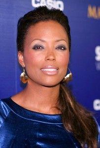 Aisha Taylor with fulani earrings