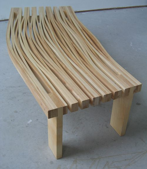 Steam Bent Slab 2 Design Milk Wood Projects Wood Woodworking Furniture