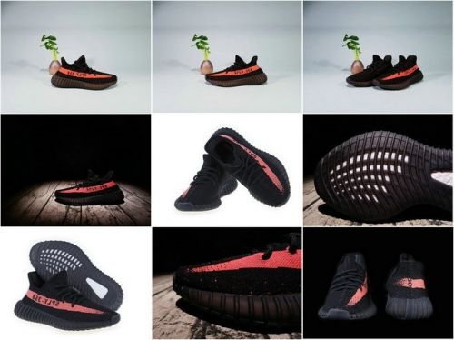size 40 8d617 a990d 2018 Spring Summer Adidas Yeezy Boost 350 V2 BY9612 Core Black Red Limited  New Image