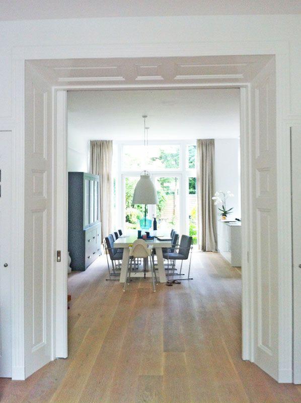 Herenhuis inrichting amsterdam google zoeken wonen for Schuifdeuren woonkamer