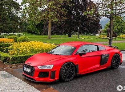 New red cars audi r8 v10 ideas #audir8