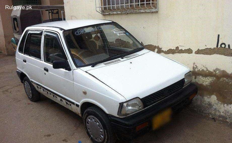Suzuki Mehran 1993 Model Cng Petrol For Sale In Karachi Sindh Suzuki Petrol Sindh