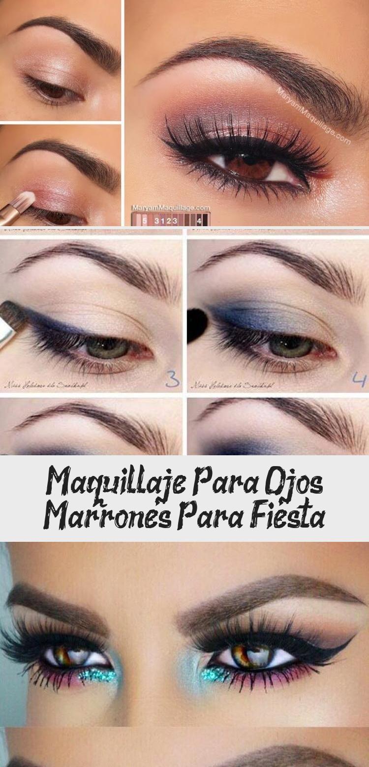Photo of Maquillaje Para Ojos Marrones Para Fiesta – Eye Makeup