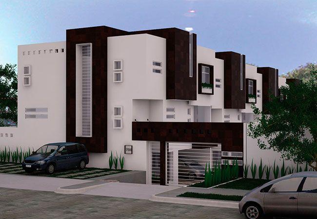 fachadas de casas modernas con rejas buscar con google