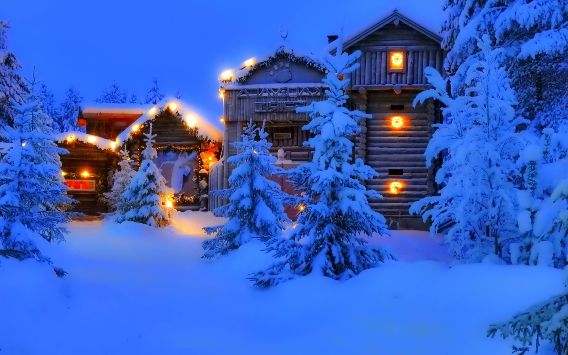 Зимний вечер | Путешествия, Открытки, Зима