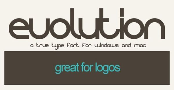 Evolution True Type Font Art Color Photography Design Pinterest