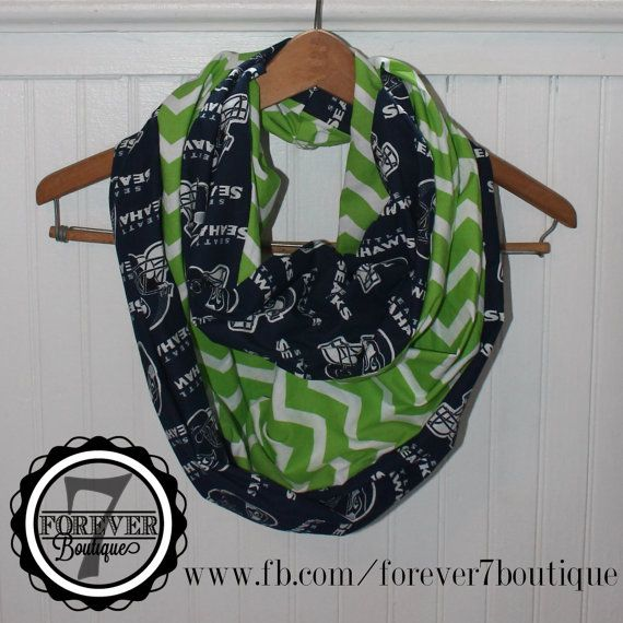 Super Bowl Football Handmade Infinity Scarf