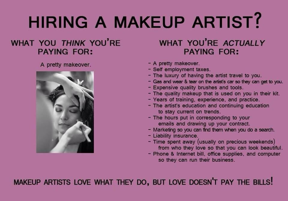 Make up artists enjoy makeup artist humor makeup